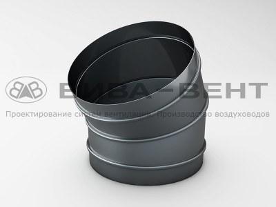 Отвод вентиляционный 15°