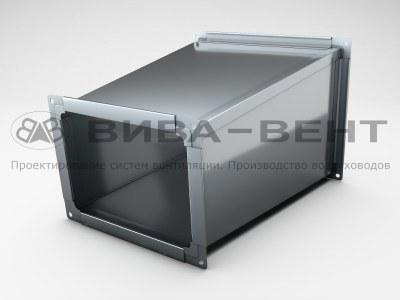 Переход вентиляционный  на прямоугольное сечение