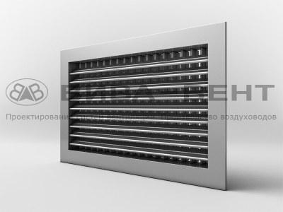Решетка вентиляционная двухрядная регулируемая АДН, АДР