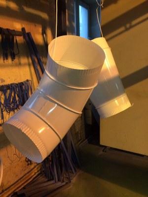 Порошковая окраска с помощью камеры полимеризации